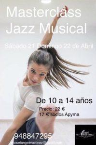 MASTERCLASS JAZZ MUSICAL