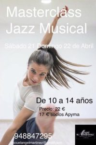 MASTERCLASS JAZZ MUSICAL