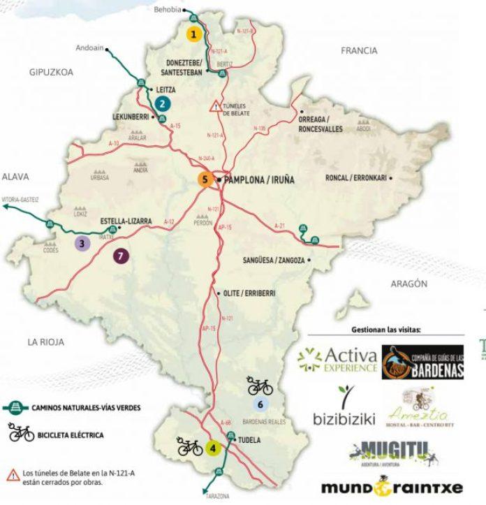 Paseos en bici Navarra