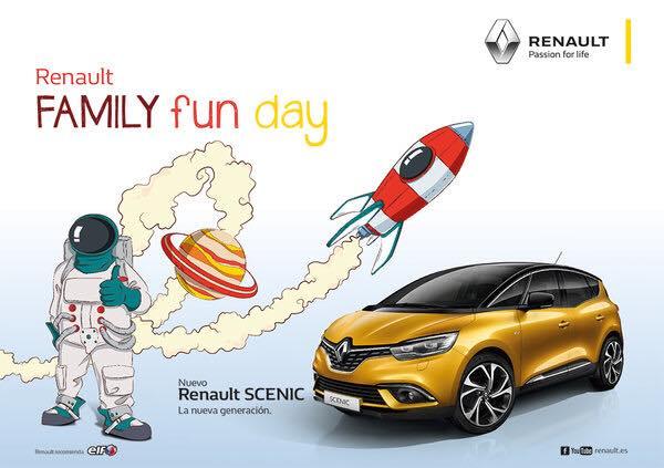 Renault family fun day