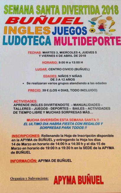 Semana Santa divertida en Buñuel