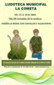DISEÑA TU MODA COGOLLOS Y ALCACHOFAS