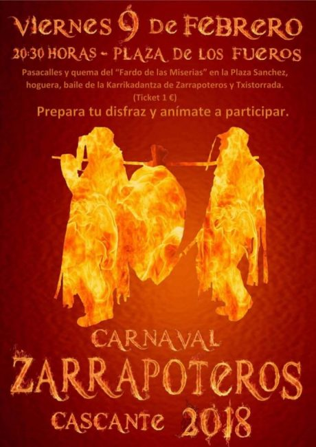 Zarrapoteros 2018