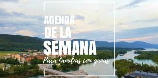 agenda, semana, junio