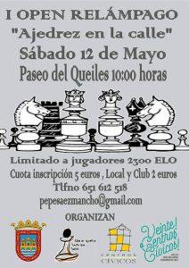 ajedrez en la calle, Centros cívicos Tudela