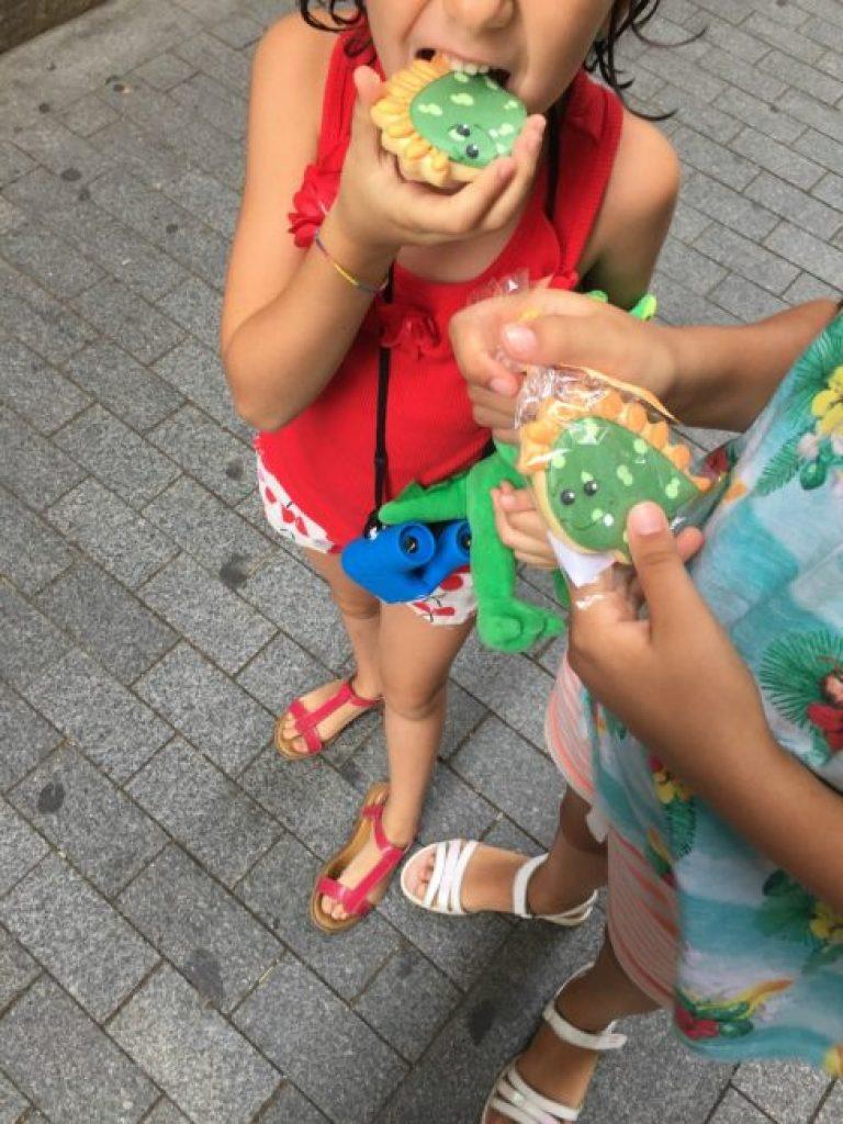 barcelona wink con niños