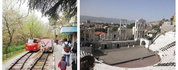 Plovdiv con niños