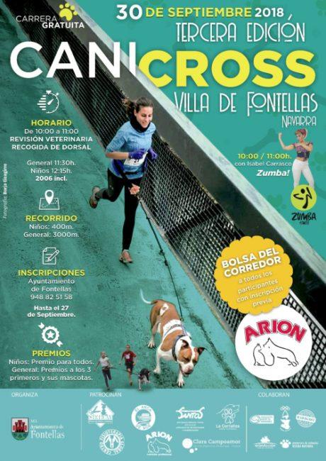 canicross Fontellas 2018