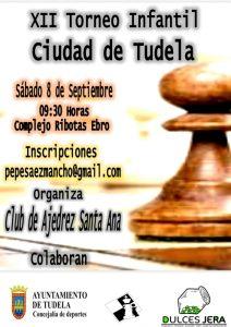 cartel XII Ciudad de Tudela