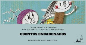 cuentos encadenados, taller, Zaragoza