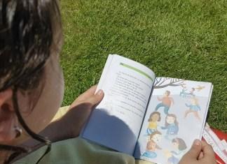 libros, verano, niños