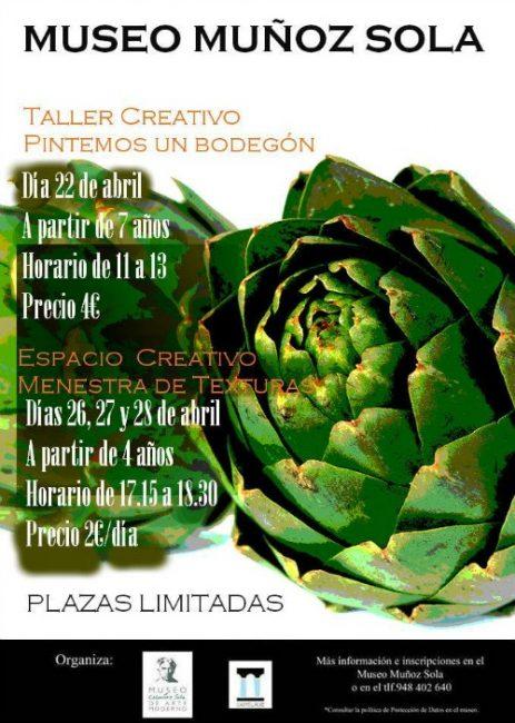 Jornadas de las Verduras en el museo Muñoz Sola Tudela