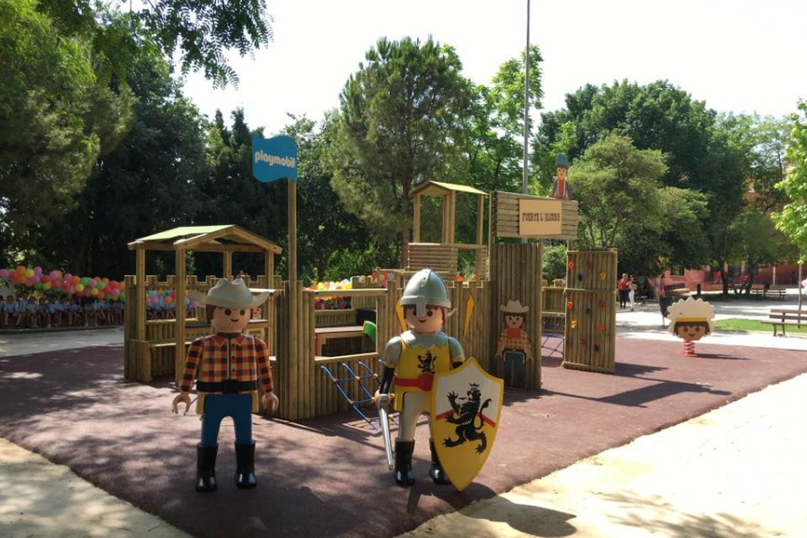 parque infantil reyes magos