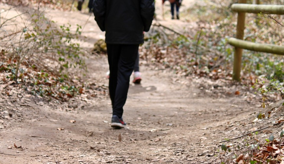 Ruta senderista niños nacedero Urederra