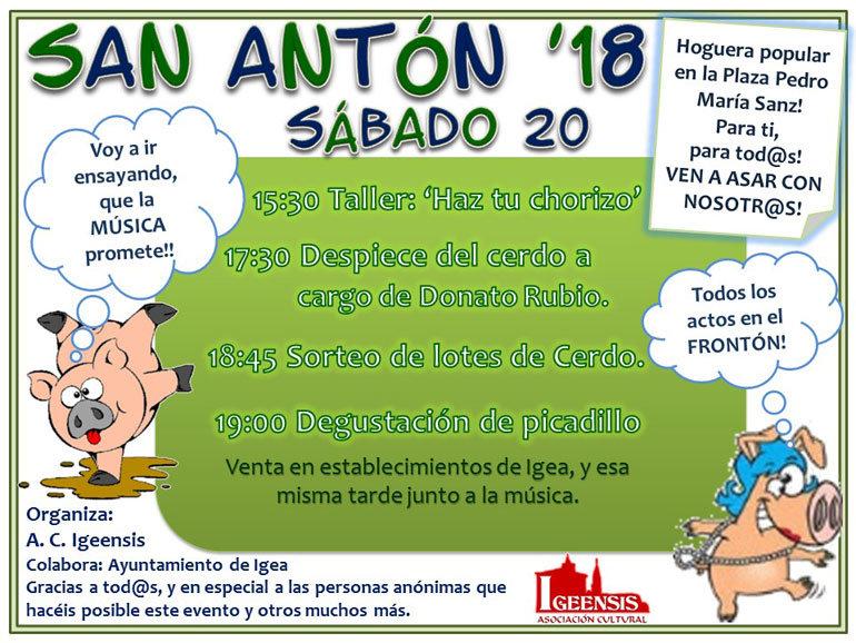 San Antón en Igea