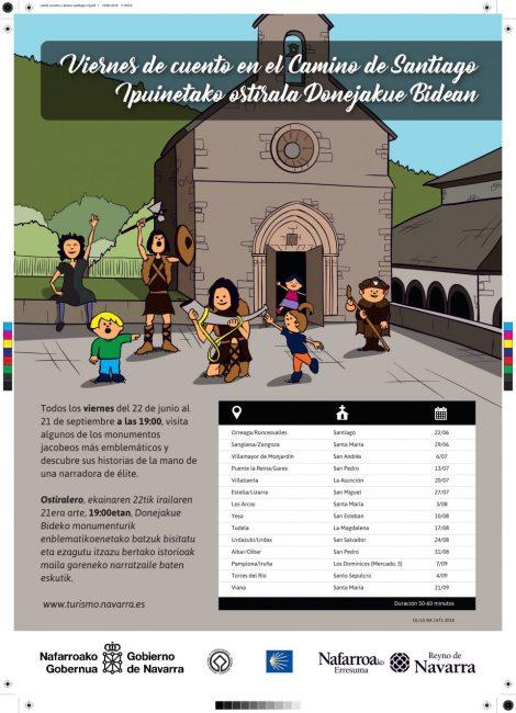 Actividades con niños en Navarra. Vienes de cuento