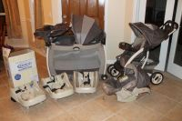 Graco laura ashley travel system for sale