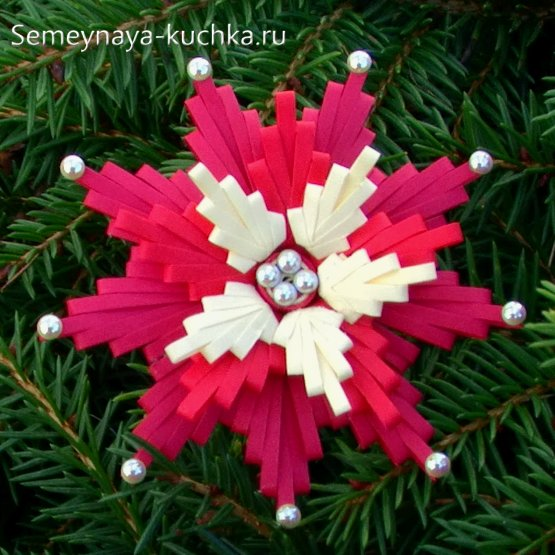 Crăciun Floare de hârtie