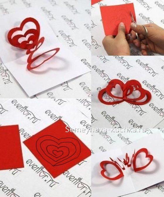 बच्चों के लिए वेलेंटाइन दिवस शिल्प