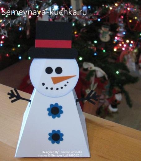 Snowman Paper Crafts cho trẻ em
