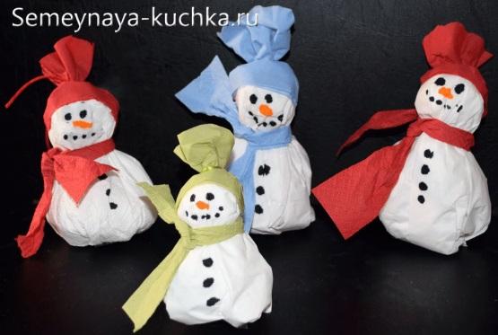 Snowman giấy Snowman
