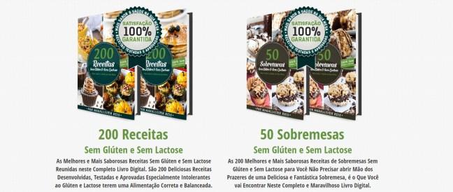 Bônus Exclusivo 200 Receitas sem Glúten sem Lactose
