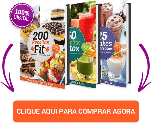 200 Receitas Fit mais Bônus Exclusivos