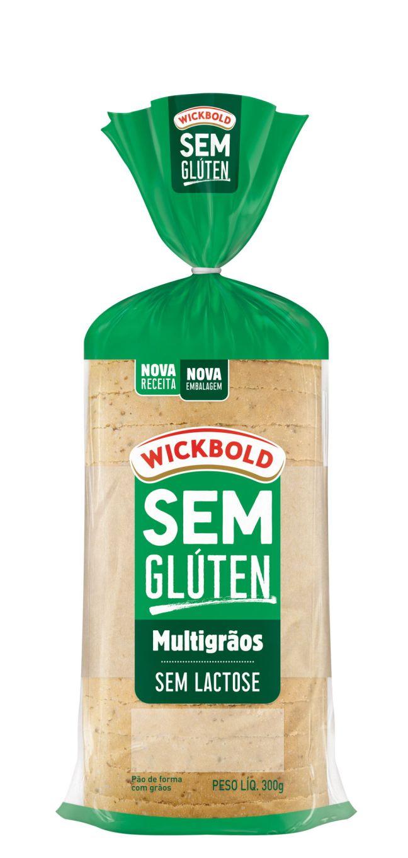 Pão sem Glúten Multigrãos Wickbold