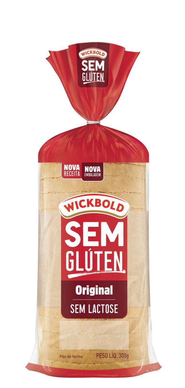 Pão sem Glúten Original Wickbold