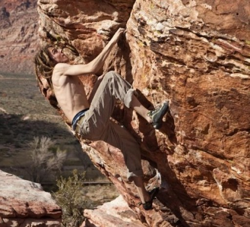 """""""I never crush puny boulders in anything but my INVISCOOL shirts."""" -Steve Denny, Ragged Mountain Sports, Carbondale, Colo."""