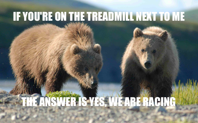 yes we are racing