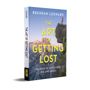 the art of getting lost by brendan leonard book cover