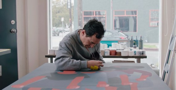 screen capture from Geoff McFetridge: AIGA Medalist