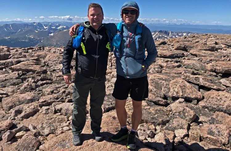 longs peak summit