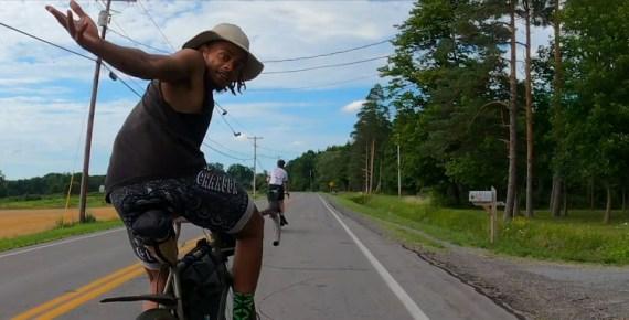 Screen capture from Underground Railroad Ride 2020