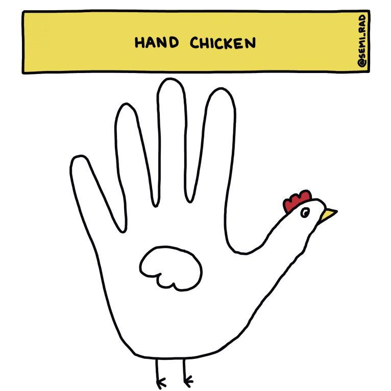 Semi-Rad Hand Chicken