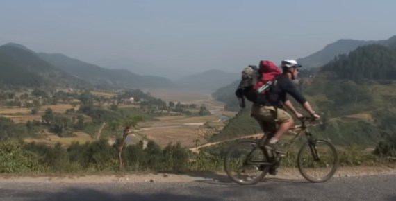 screen capture from How 15 Years of Bike Adventures Changed My Life