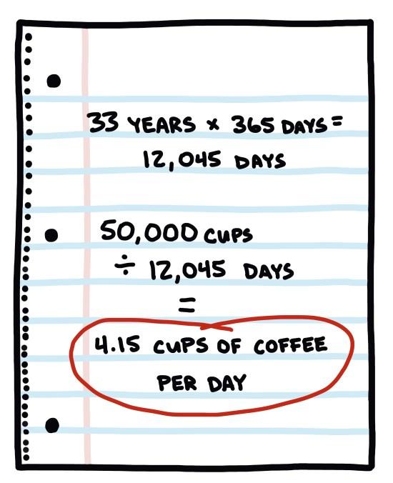 handwritten math on notebook page