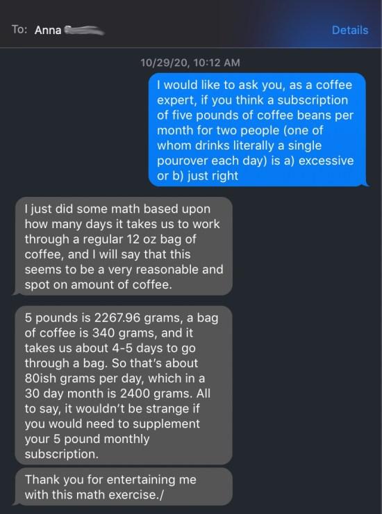 text message screenshot