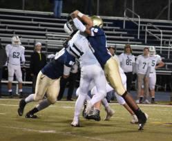 Ronnie gets to quarterback against Gabriel Richard