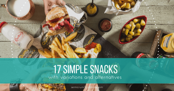 17 Easy Kid-Friendly Snack Ideas