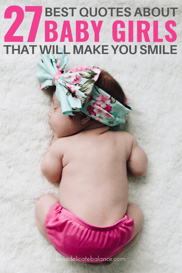Cute Baby Girl Quotes With Images : quotes, images, Sweet, Quotes, Smile