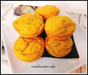 muffin salato zucca