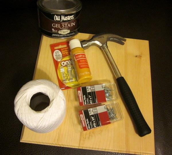 Nail and String Art Materials
