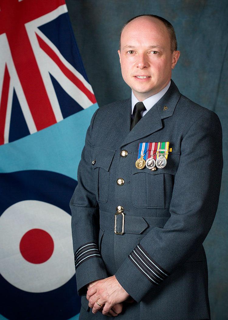 Wg Cdr Andy Pass