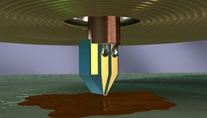 NIST has made electron spin resonance useful for exploring tiny objects. (Source: NIST)