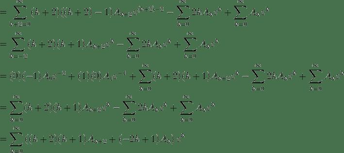differential equationa