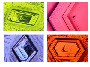 Nano-scale diamondoid crystals (Source: SLAC)