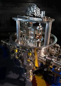 The NIST-4 watt balance (Source: NIST)