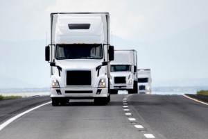 MIT engineers have studied a simple vehicle-platooning scenario and determined the best ways to deploy vehicles in order to save fuel and minimize delays. (Source: MIT)